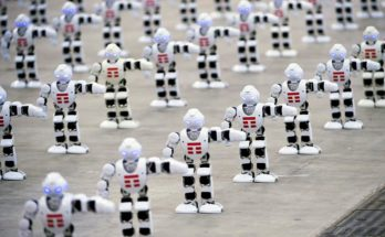 Most-robots-dancing-world-record