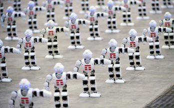 Most-robots-dancing-world-record