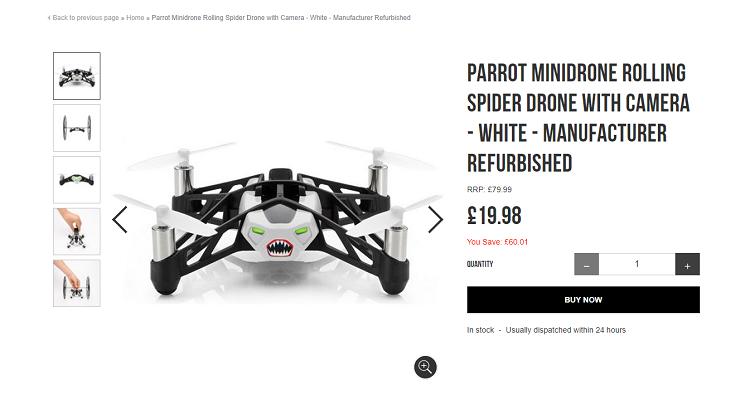 parrot-minidrone
