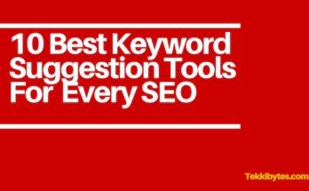 Best Keyword Suggestion Tool
