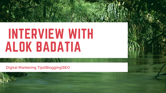 Interview with alok badatia