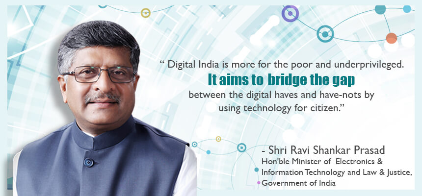 Ravi Shankar Prasad Digital India