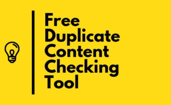 Free duplicate content checker online
