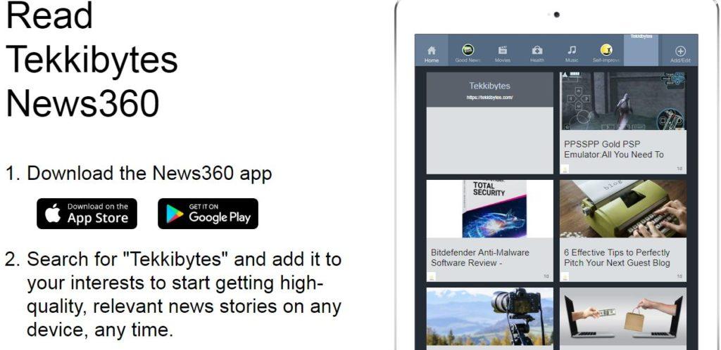 news360 feed tekkibytes