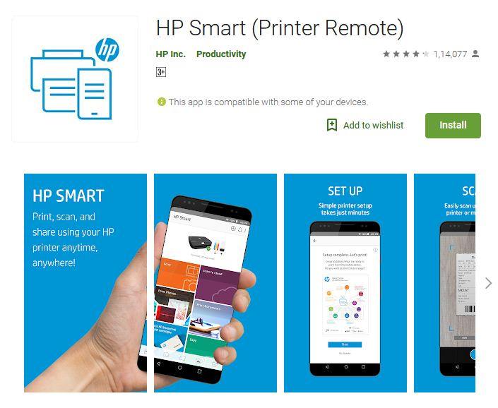 HP All-In-One Printer Remote – Free
