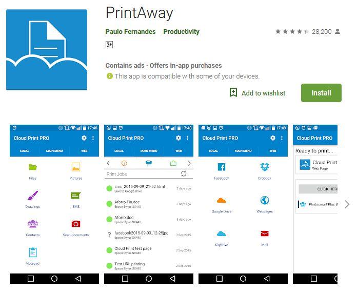 PrintAway