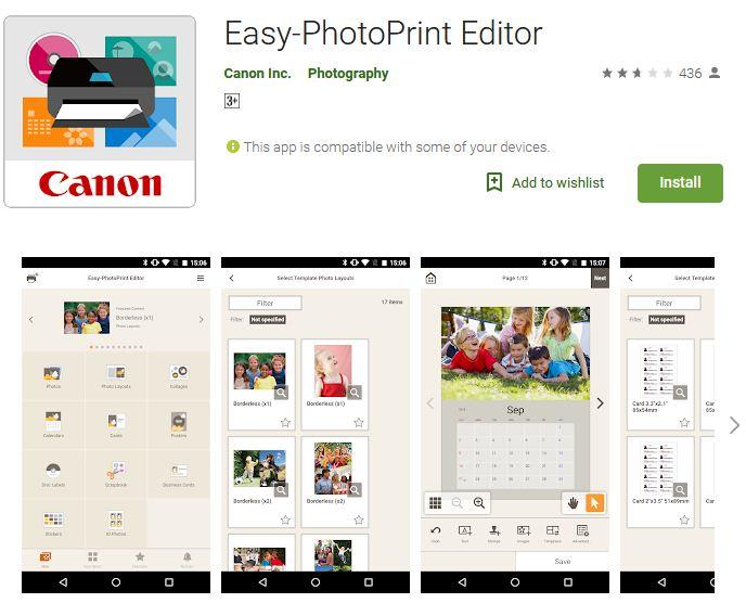 canon easy print editor