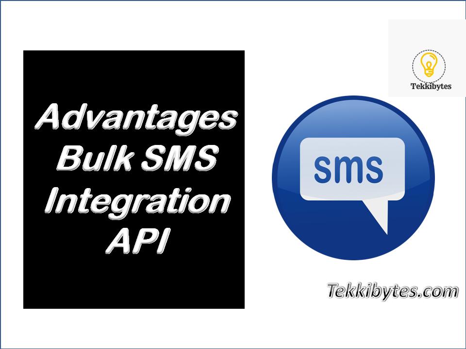 Advantages of Bulk SMS Integration API Services