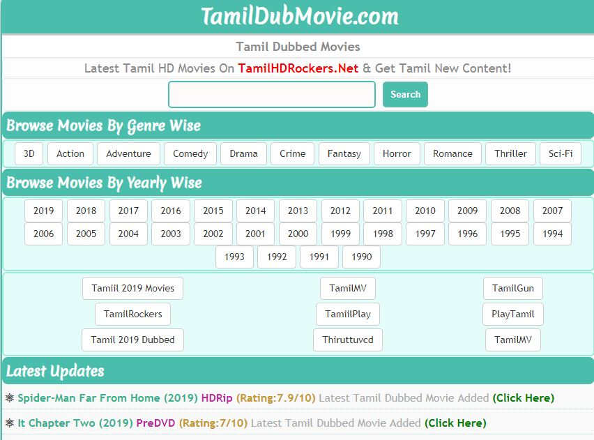Tamil Dub Movies