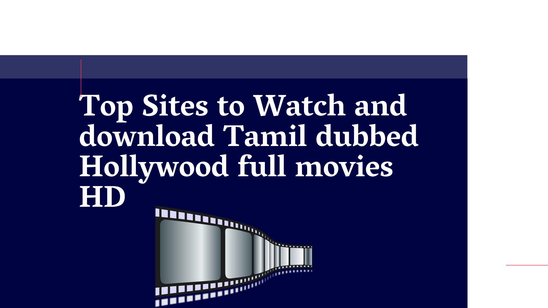 Top 5 Sites To Watch And Download Tamil Dubbed Hollywood Movies Full Movies Hd Tekkibytes Com