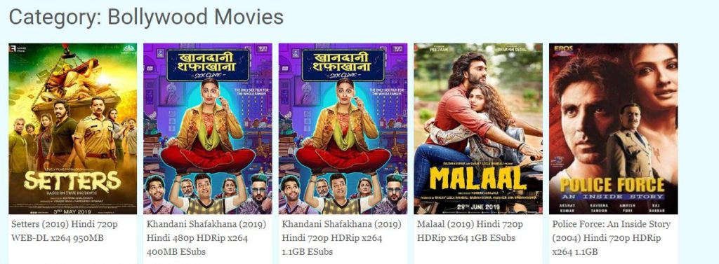 ssr bollywood movies download