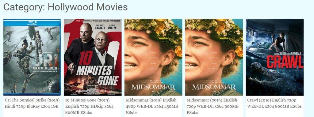 ssr hollywood movies in hindi