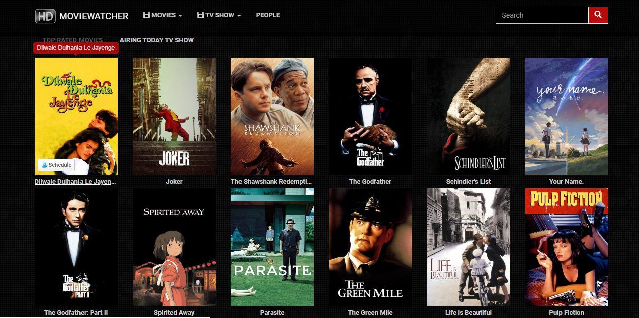 Moviewatcher Online Cinema