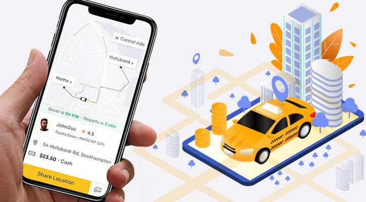 Uber Clone functionality