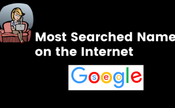 Most Searched Name on the Internet